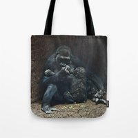 mother Tote Bags featuring Mother by Mary Kilbreath