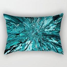 broken glass sea Rectangular Pillow