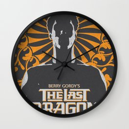 The Last Dragon Wall Clock