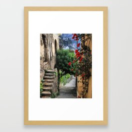 Fall in Positano Framed Art Print