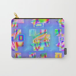 Abstract lighteffects -22- Fantasy on ice Carry-All Pouch