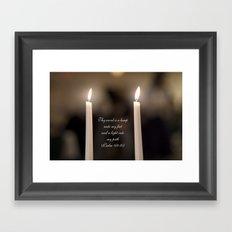Psalm 119 Framed Art Print
