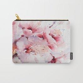Peach Blossom - Painting Carry-All Pouch