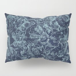Vintage Constellation & Astrological Signs Pillow Sham