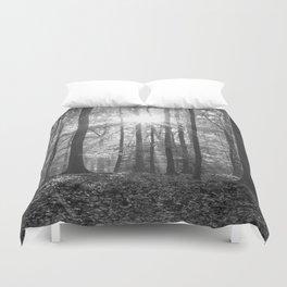 Beech Wood Sunrise Duvet Cover