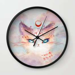 Stargazer Cat : Vision Seeker Wall Clock