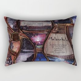 Melancholy Rectangular Pillow