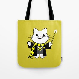Wizardkitty Badger House! Tote Bag