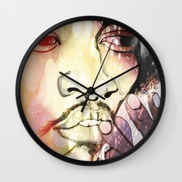 Purple Haze Wall Clock
