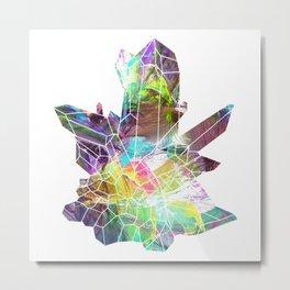 Quartz crystals 5 Metal Print