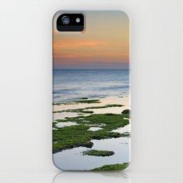 Green coast. Mediterranean sea. iPhone Case