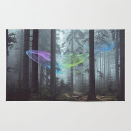 Whale Music in the Forest Rug