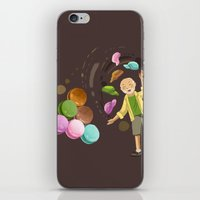 macarons iPhone & iPod Skins featuring Macarons by Lilian Darmono
