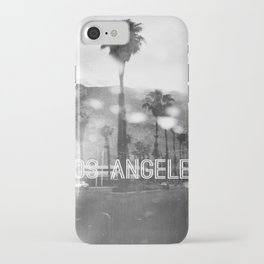 Los Angeles lover number 2 iPhone Case
