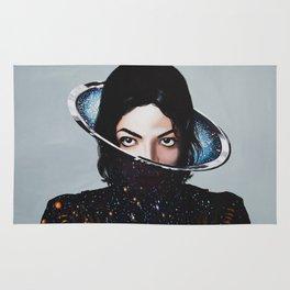 MJ, xscape, painting Rug