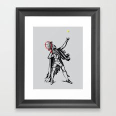 Chief of The Court Framed Art Print
