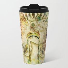 BEAR HEADDRESS Travel Mug