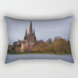 Autumn Lichfield Cathedral Rectangular Pillow