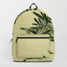 Botanical Rosemary Backpack