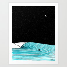 Night Shot Art Print