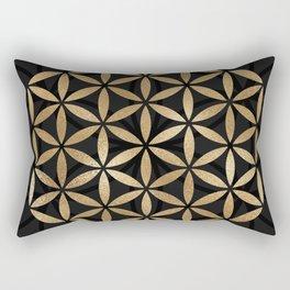 Flower Of Life - Sacred Geometry Rectangular Pillow