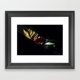 Slice of Sun: Autumn Framed Art Print