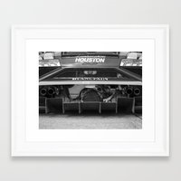 lamborghini Framed Art Prints featuring Lamborghini by Trackography