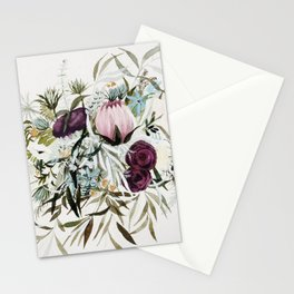 Rustic and Free Bouquet Stationery Cards