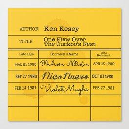 KEN KESEY (1962) Canvas Print