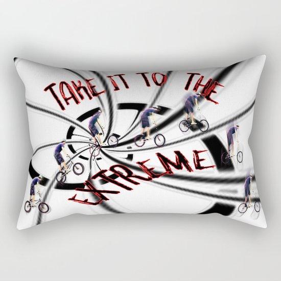 Take It To the Extreme Rectangular Pillow