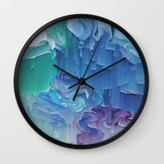 Delicate Deconstruction Wall Clock