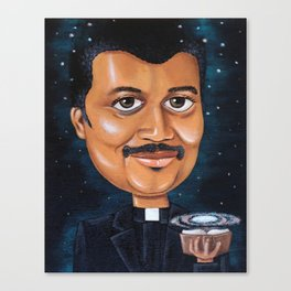 Preaching Science Canvas Print