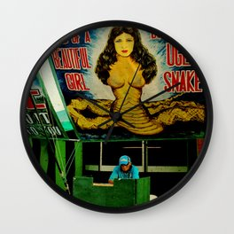 Freak Show Love Wall Clock