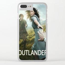 Jamie Fraser outlander Clear iPhone Case