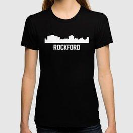 Rockford Illinois Skyline Cityscape T-shirt
