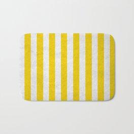 Stripes Collection: Lemon Drops Bath Mat