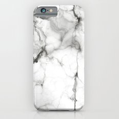 White Marble Slim Case iPhone 6