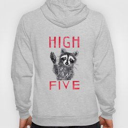 Raccoon High Five  Hoody
