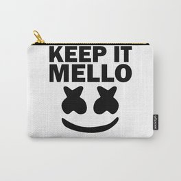 Keep it Mello face Carry-All Pouch