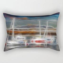 Ghost Ships Rectangular Pillow