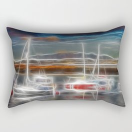 Ghost Ships Rectangular Pillow
