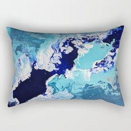 Churning Tides Rectangular Pillow