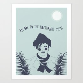 OF MONTREAL: NOCTURNAL MUSE Art Print