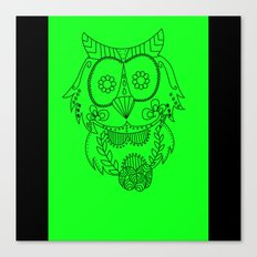 Owl of the Day Canvas Print