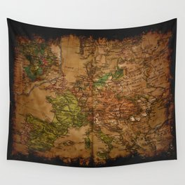 Map of Europe 1740 Wall Tapestry