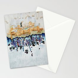 Blue and White Stationery Cards