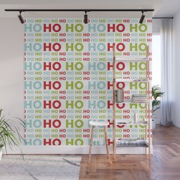 Ho Ho Ho Merry Christmas Wall Mural