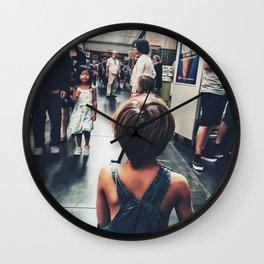 Lost boy III Wall Clock