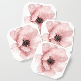 Flower 21 Art Coaster