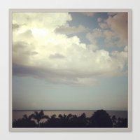 florida Canvas Prints featuring FLORIDA by Jennifer Spradling